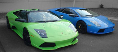 CPAlead colored Lambos